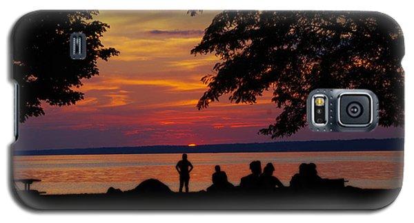 Sunset At Sylvan Beach Galaxy S5 Case