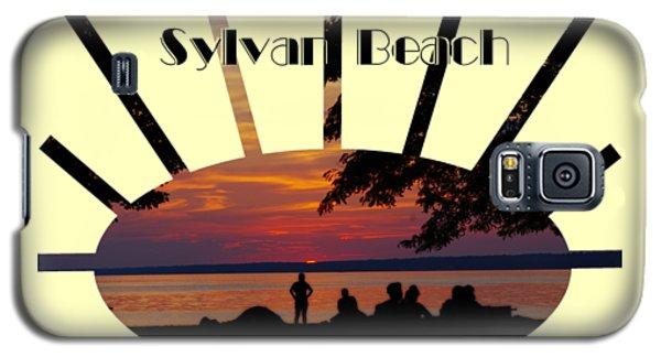 Sunset At Sylvan Beach - T-shirt Galaxy S5 Case