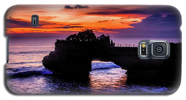 Sunset At Tanah Lot Galaxy S5 Case