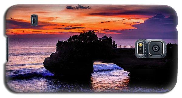 Sunset At Tanah Lot Galaxy S5 Case