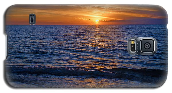Sunset At The Beach In Naples, Fl Galaxy S5 Case