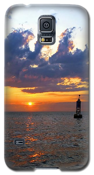 Sunset At The Bell Buoy Galaxy S5 Case