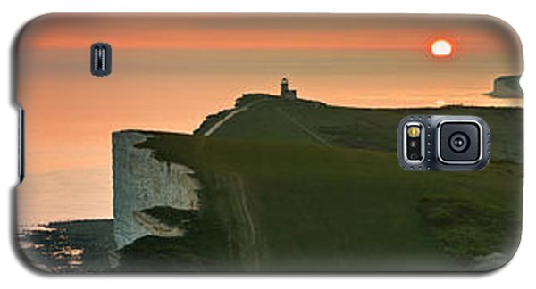 Sunset At The Belle Tout Lighthouse Galaxy S5 Case