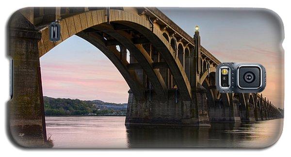 Sunset At The Columbia - Wrightsville Bridge Galaxy S5 Case