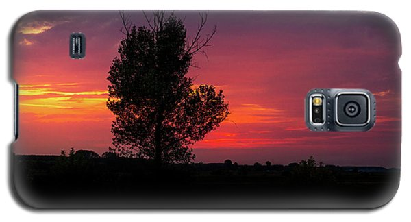 Sunset At The Danube Banks Galaxy S5 Case