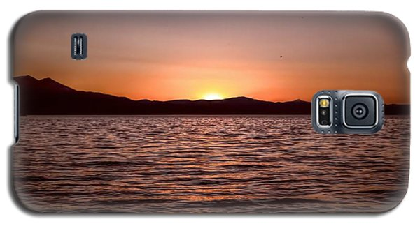 Sunset At The Lake 2 Galaxy S5 Case