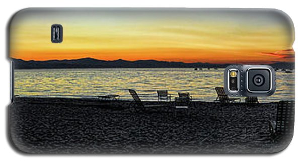 Sunset At The Lake Galaxy S5 Case