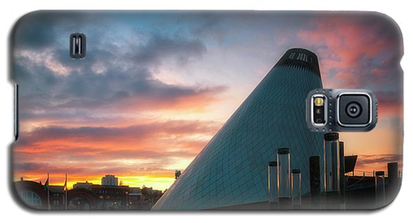 Sunset At The Museum Of Glass Galaxy S5 Case by Ryan Manuel