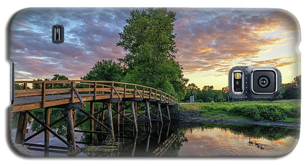 Sunset At The Old North Bridge Galaxy S5 Case