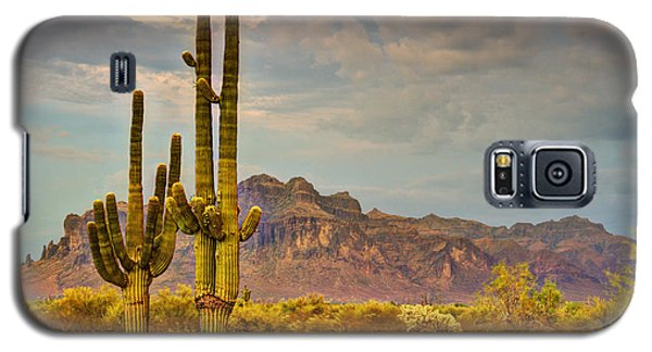 Sunset At The Superstitions  Galaxy S5 Case