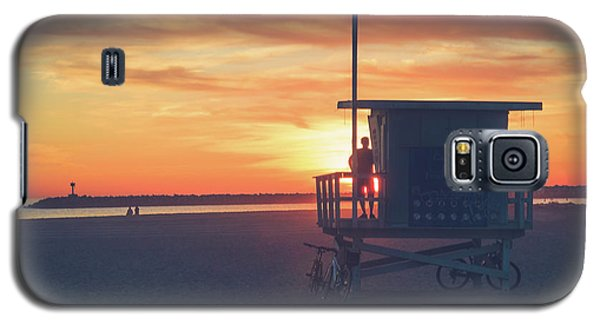 Sunset At Toes Beach Galaxy S5 Case