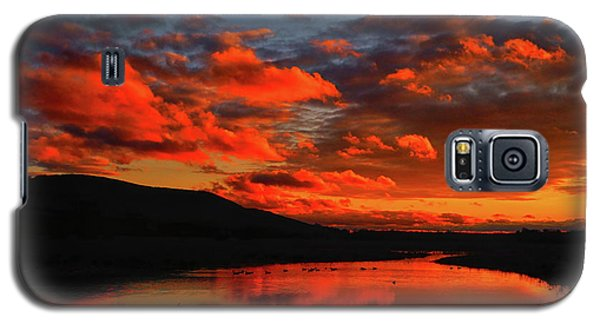 Sunset At Wallkill River National Wildlife Refuge Galaxy S5 Case