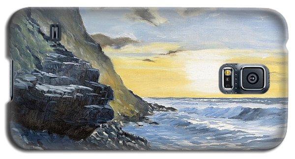 Sunset At Warren Point Duckpool Galaxy S5 Case