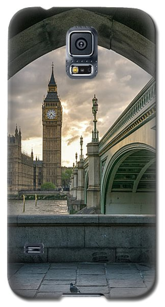Sunset At Westminster Galaxy S5 Case