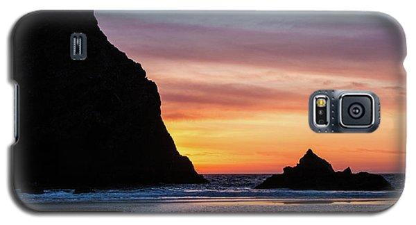 Sunset At Whalehead Beach Galaxy S5 Case