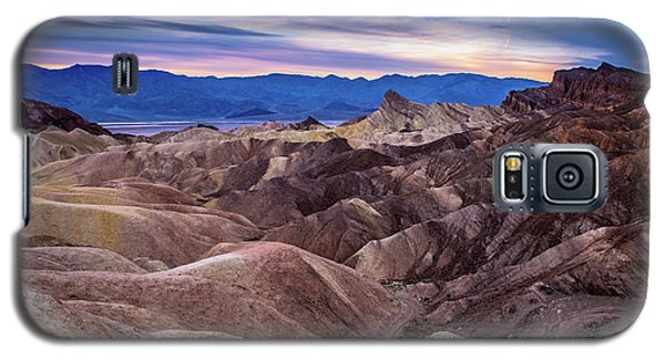 Sunset At Zabriskie Point In Death Valley National Park Galaxy S5 Case