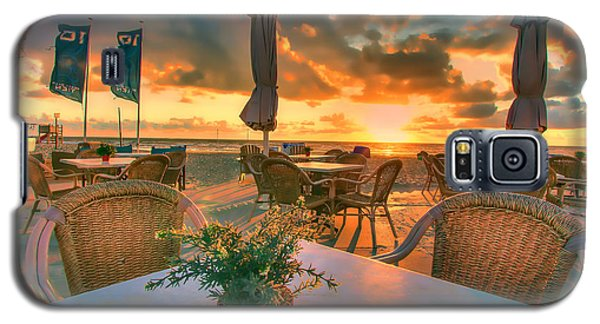 Sunset At Zandvoort Galaxy S5 Case by Nadia Sanowar