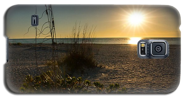 Sunset Beach Galaxy S5 Case by Rebecca Hiatt