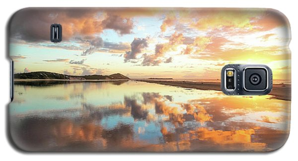 Sunset Beach Reflections Galaxy S5 Case