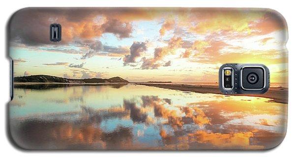 Sunset Beach Reflections Galaxy S5 Case