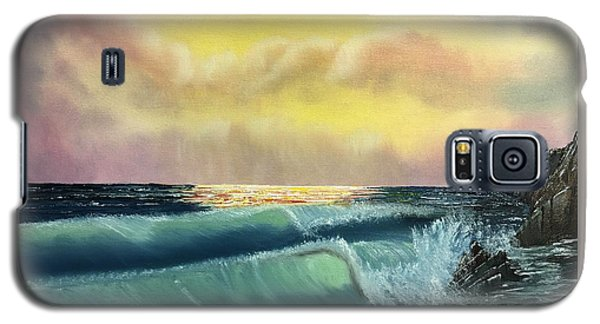 Sunset Beach Galaxy S5 Case