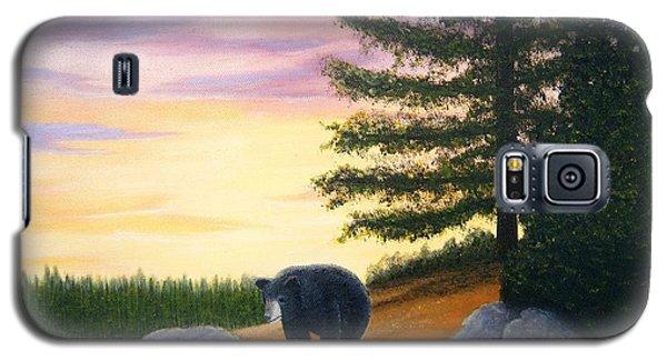Sunset Bear Galaxy S5 Case