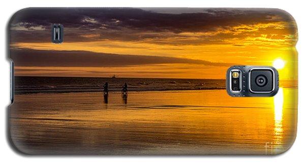 Sunset Bike Ride Galaxy S5 Case