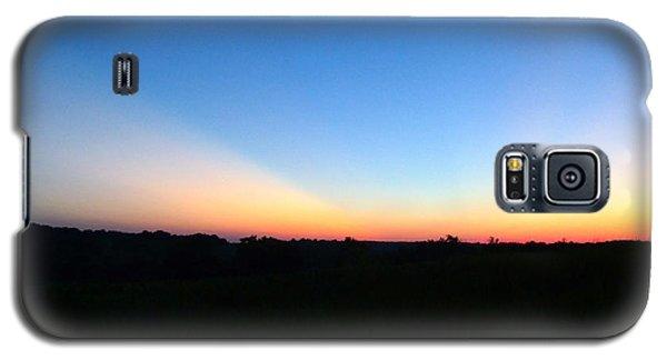 Sunset Blue Galaxy S5 Case