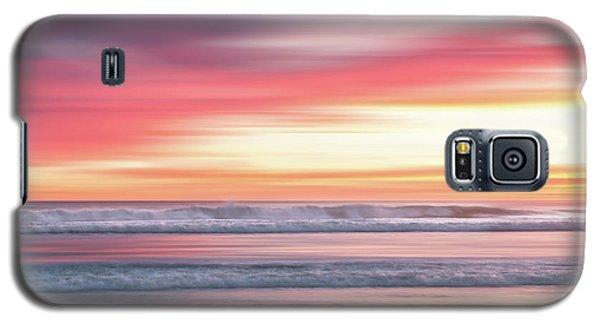 Sunset Blur - Pink Galaxy S5 Case