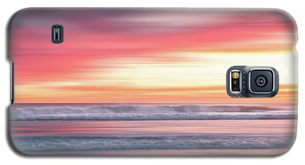Sunset Blur - Pink Galaxy S5 Case