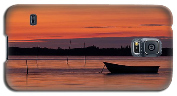 Sunset Boat Galaxy S5 Case by Gert Lavsen