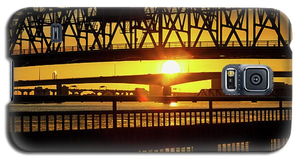 Sunset Bridge 3 Galaxy S5 Case