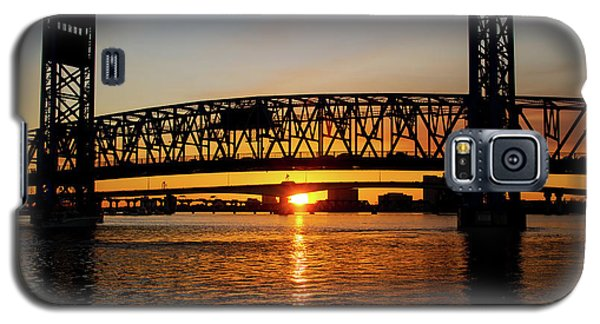 Sunset Bridge 5 Galaxy S5 Case