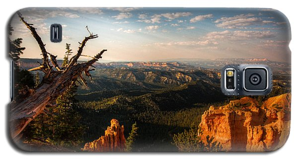 Galaxy S5 Case featuring the photograph Sunset Bryce by Rebecca Hiatt