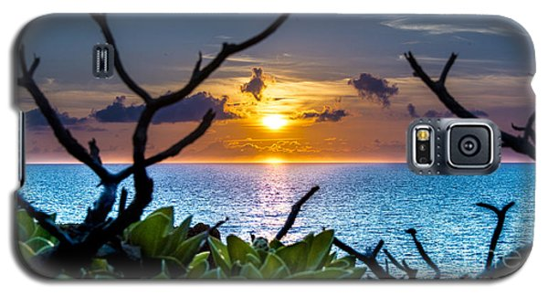 Sunset By The Point Galaxy S5 Case