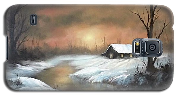 Sunset Cabin  Galaxy S5 Case