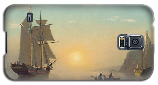 Sunset Calm In The Bay Of Fundy Galaxy S5 Case by William Bradford