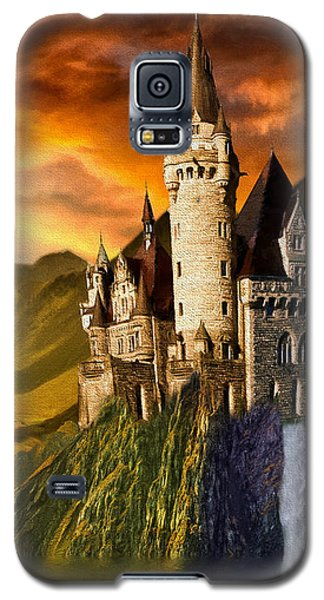 Sunset Castle Galaxy S5 Case