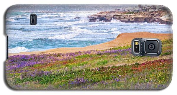 Sunset Cliffs In Spring Galaxy S5 Case