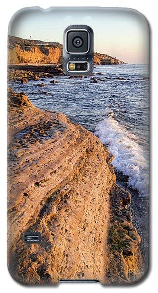 Galaxy S5 Case featuring the photograph Sunset Cliffs, San Diego, California  -74706 by John Bald