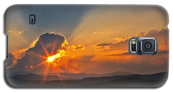 Sunset - Close Another Day Galaxy S5 Case