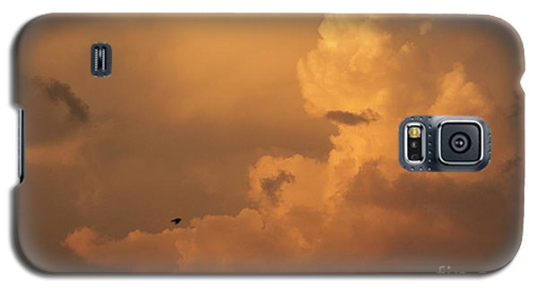 Sunset Clouds 01 Galaxy S5 Case