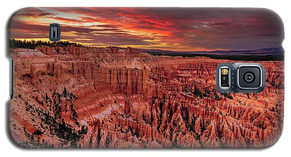 Sunset Clouds Over Bryce Canyon Galaxy S5 Case