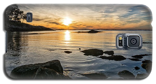 Sunset Cove Gloucester Galaxy S5 Case by Michael Hubley