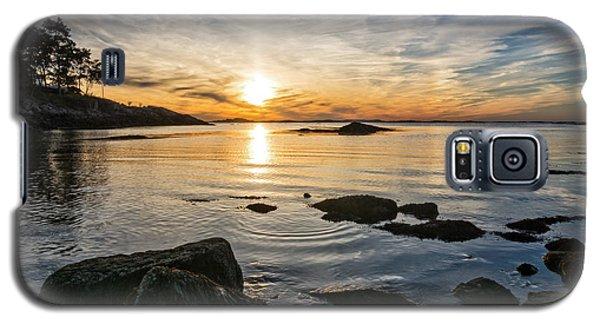 Sunset Cove Gloucester Galaxy S5 Case