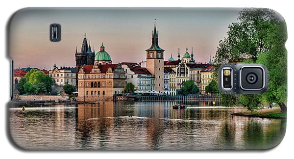 Sunset Cruise Prague Galaxy S5 Case