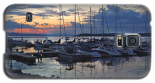 Galaxy S5 Case featuring the photograph Sunset Dock by Felipe Adan Lerma