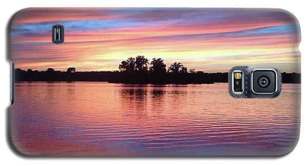Sunset Dreams Galaxy S5 Case by Rebecca Wood