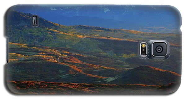 Galaxy S5 Case featuring the photograph Sunset During Autumn Below The San Juan Mountains In Colorado by Jetson Nguyen
