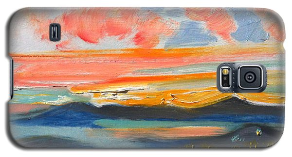 Sunset El Cerrito Ca Galaxy S5 Case